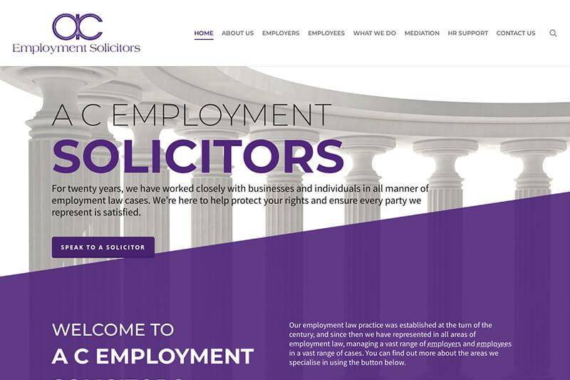 A C Employment Solicitors Hampshire