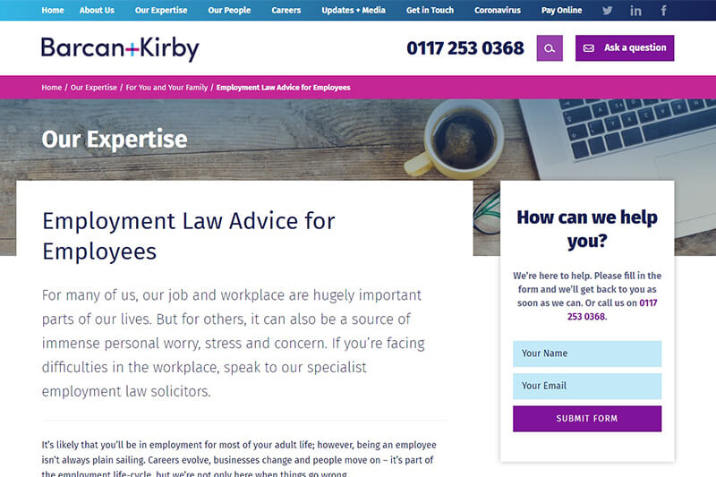 Barcan+Kirby Solicitors Bristol