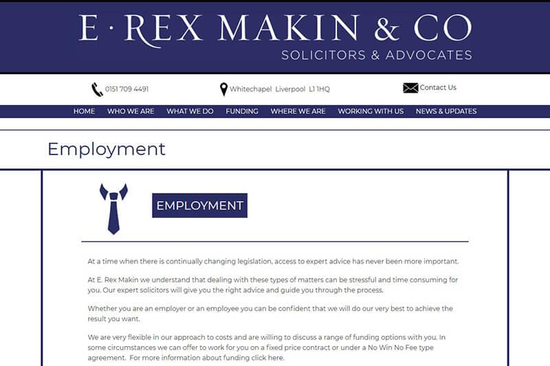 E. Rex Makin & Co. Solicitors Liverpool