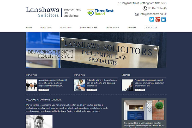 Lanshaws Solicitors Nottingham