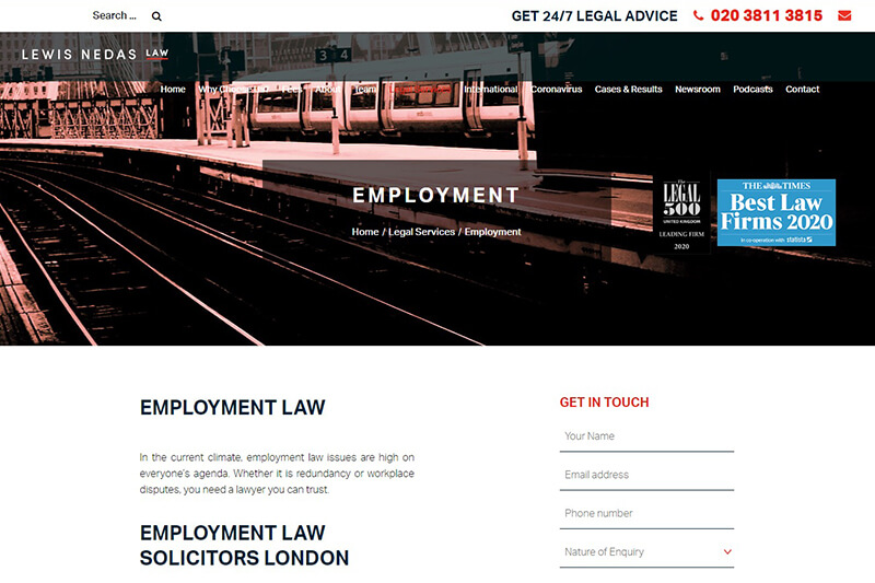 Lewis Nedas Law London