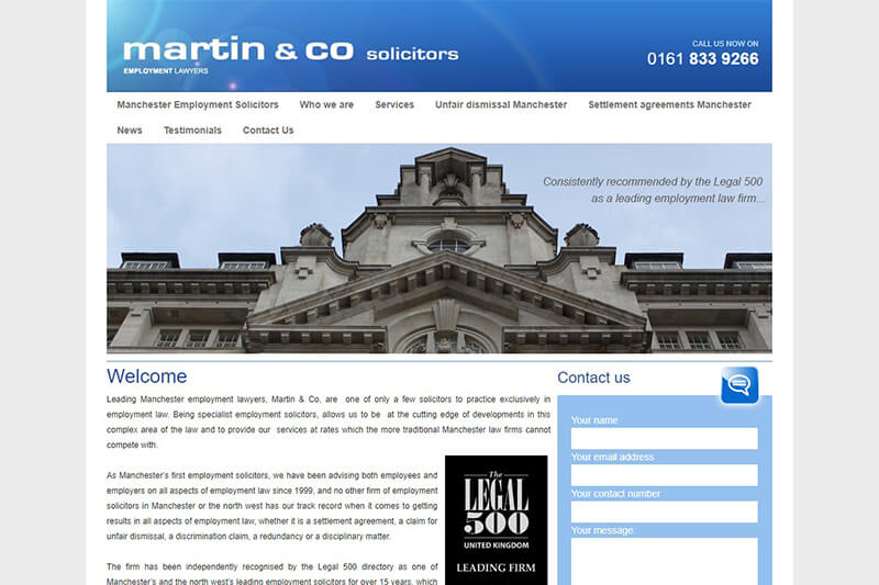 Martin & Co Solicitors Manchester