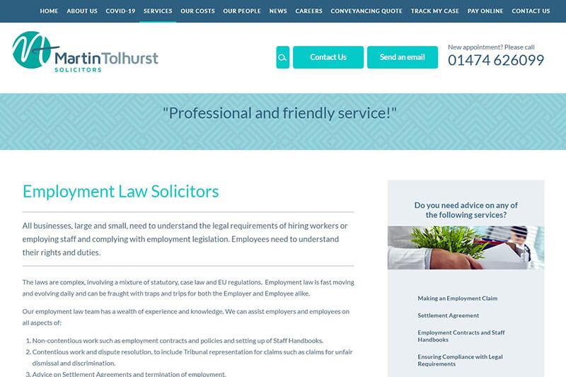 Martin Tolhurst Solicitors Kent