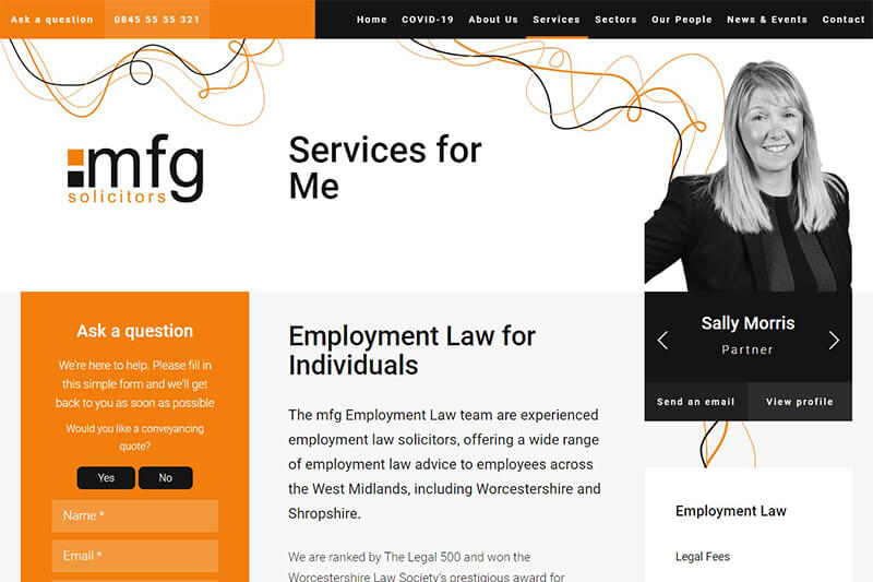 mfg Solicitors Worcestershire