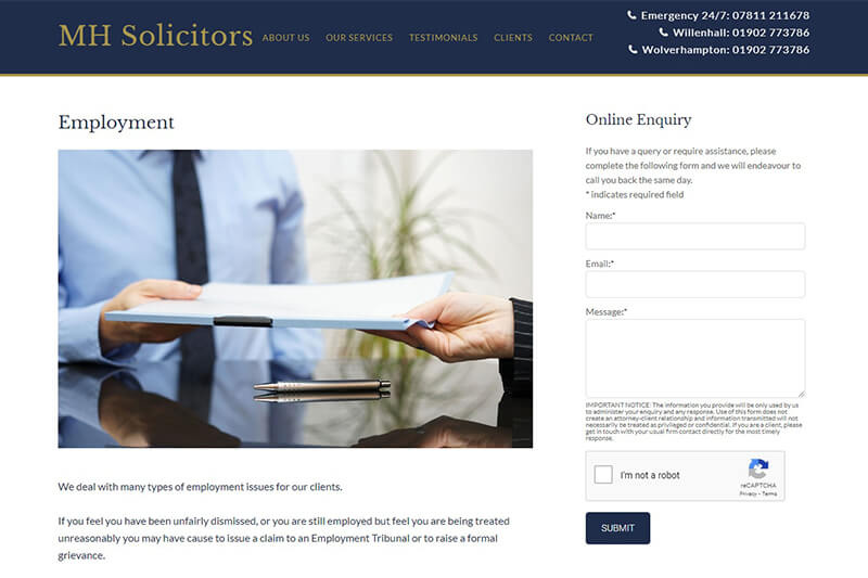 MH Solicitors West Midlands