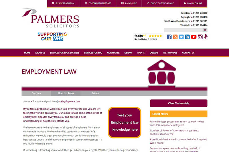 Palmers Solicitors Essex