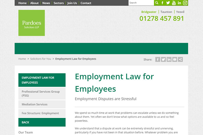 Pardoes Solicitors Somerset