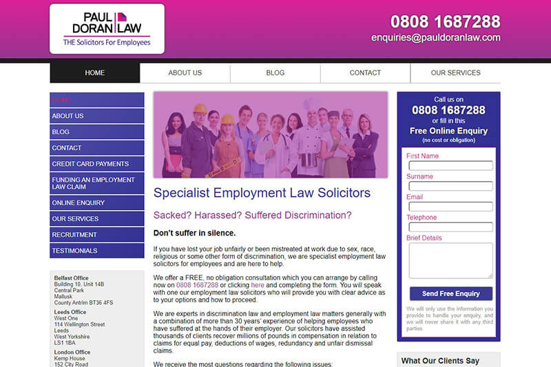 Paul Doran Employment Law Tyne and Wear