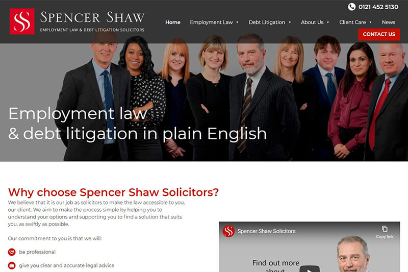 Spencer Shaw Solicitors Birmingham